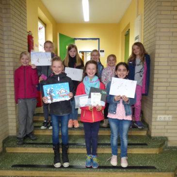 Gewinnerinnen des Malwettbewerbs der Schülerzeitung stehen fest
