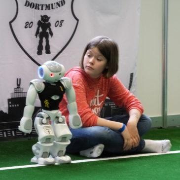 Roboter-AG besucht die Universität Dortmund
